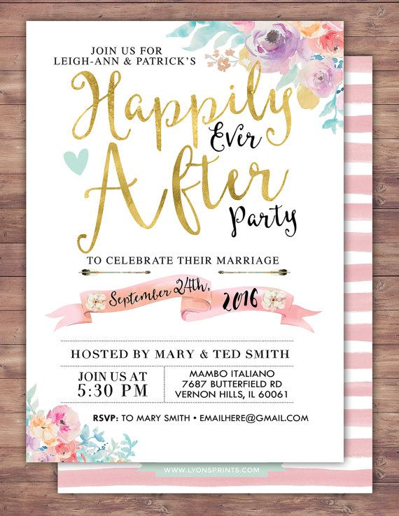best 20+ wedding after party ideas on pinterest | wedding games, Party invitations