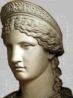 hera de griekse god, de god van de olympische goden.