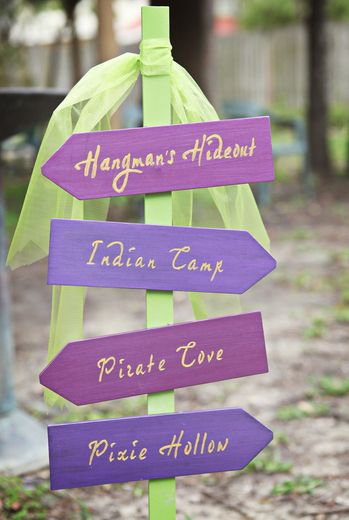 """Photo 3 of 45: Peter Pan / Birthday """"Ainsley's Neverland 3rd Birthday""""   Catch My Party"""