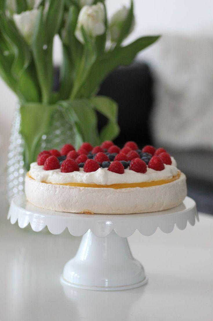 Citron & Marängtårta | Bakverk och Fikastunder