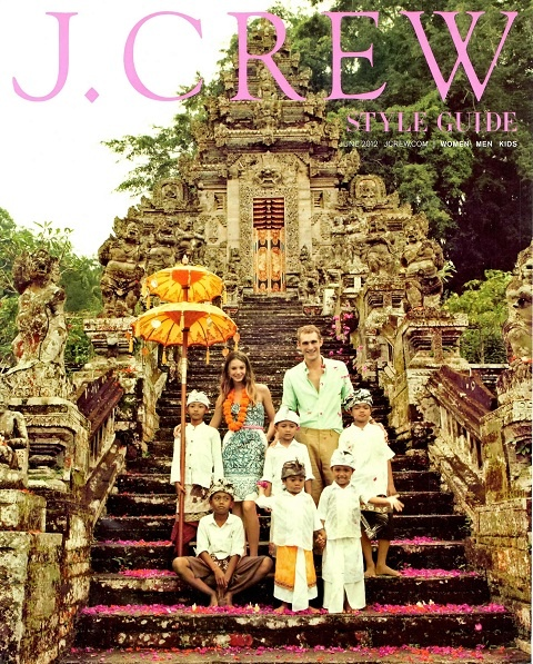Love the jcrew style guide for June (location: Bali)