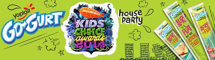Go-GURT® & Nickelodeon Kids' Choice Awards House Party