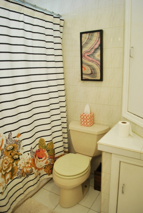 42 best Black and White Striped Shower Curtain images on Pinterest