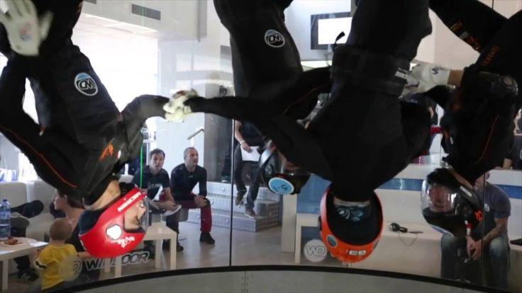 ¡Hasta donde quieras llegar...Ven a volar! Competición internacional de profesionales del indoorskydiving en Windoor