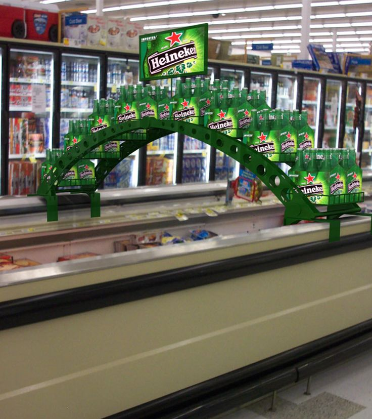 Vulcan Industries Beverage Display Fixtures