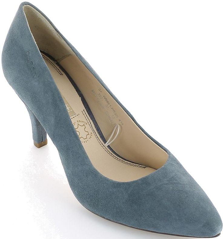 Bugatti női bőr magassarkú cipő