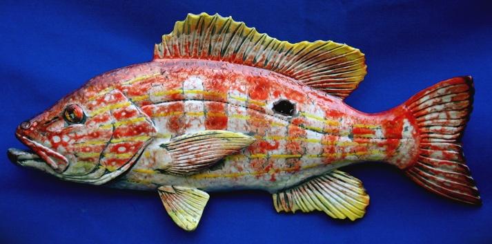 Raku fish Lane Snapper