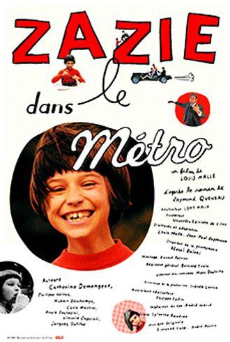 地下鉄のザジ 監督/Louis Malle 制作年・国/1960・フランス 衣装/マルク・ドールニッツ