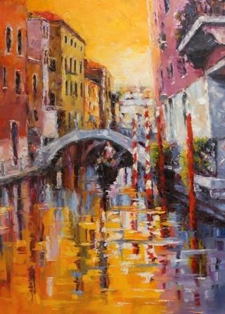 Gondolier's song | Elena Jero