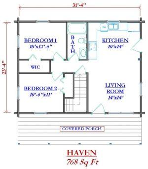768 sq ft good size cabin floor plans pinterest for 600 sq ft cabin kits