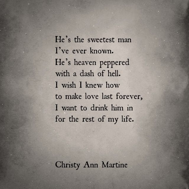 Love Cocktail. <3 Romantic Love Poems and Quotes by Christy Ann Martine #love #quotes #lovepoems