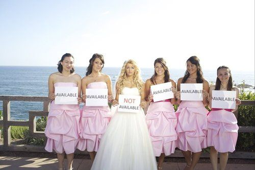 Not available. Funny wedding picture. Would be funny to do for a bachelorette party