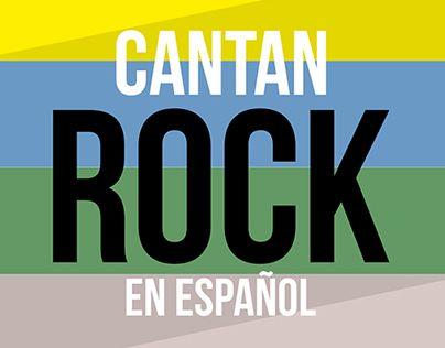 "Consulta este proyecto @Behance: ""CANTAN ROCK EN ESPAÑOL"" https://www.behance.net/gallery/19567479/CANTAN-ROCK-EN-ESPANOL"