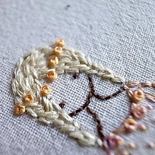 ♒ Enchanting Embroidery ♒  diy embroidery inspiration - princess 5 by lili_popo, via Flickr