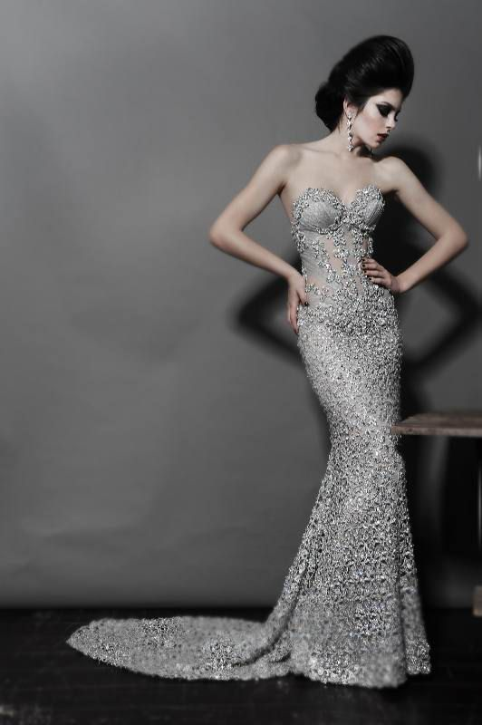 Pnina Tornai wedding dress Don't know if id actually wear this but i think its beautiful!