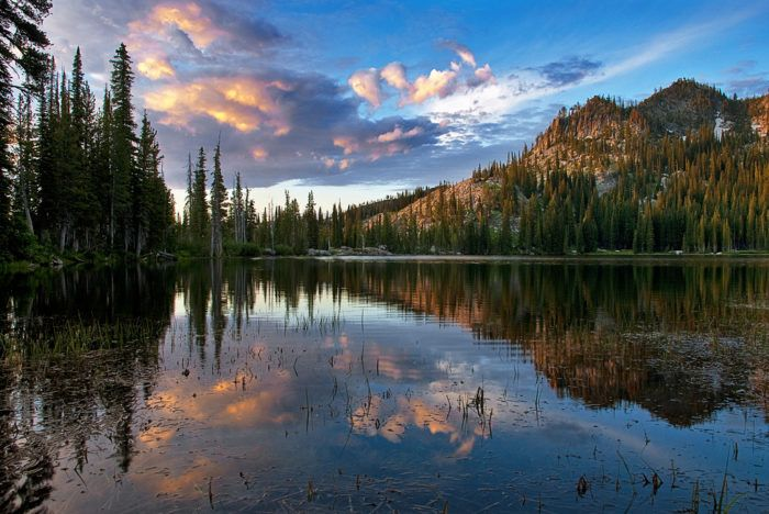 Blue Lake is located just outside of Cascade, Idaho in the Boise National Forest, only about 2 hours outside of Boise.