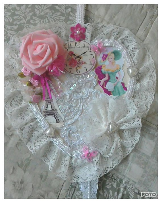 Romantic Love Heart Decor Shabby Chic Gifts For Ladies Girls