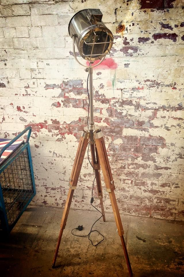 Nautical / Theatre Spotlight / Floor Lamp, £160.00