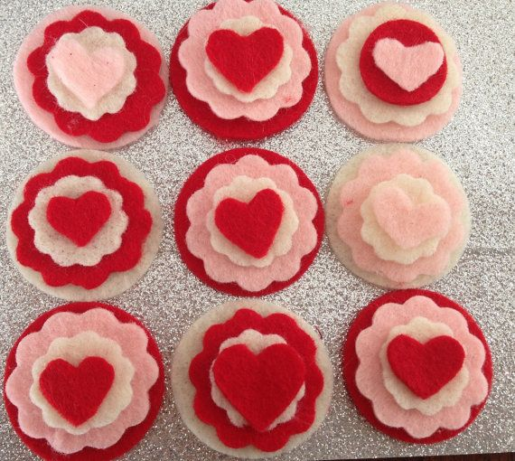 L O V E heart headbands & clips by SaraJaneandCo on Etsy, $6.00