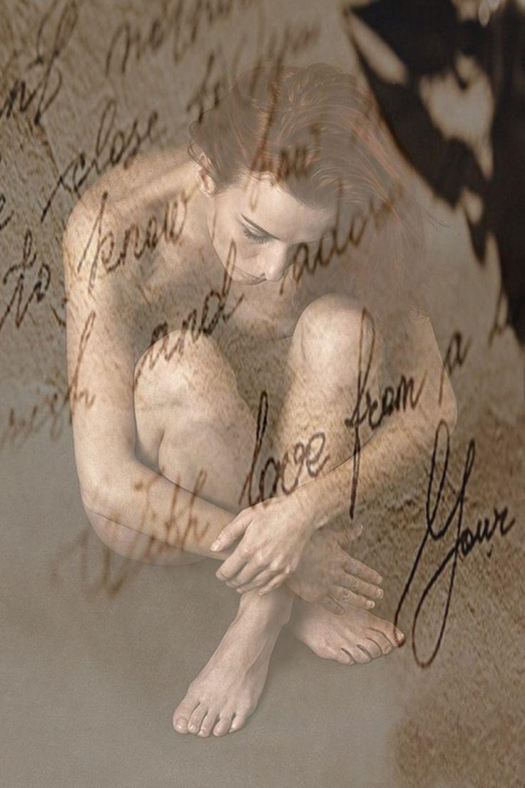 Kvinde, Længsel, Kære, Kærlighed Brev, Fyldepenne
