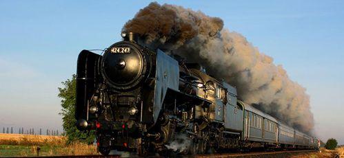 MÁV 424 247. steam locomotive