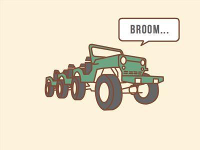 Truck Broom by Liam Wolf http://www.neopeaks.com