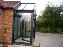 Aluminium and Glass Porch Nottingham