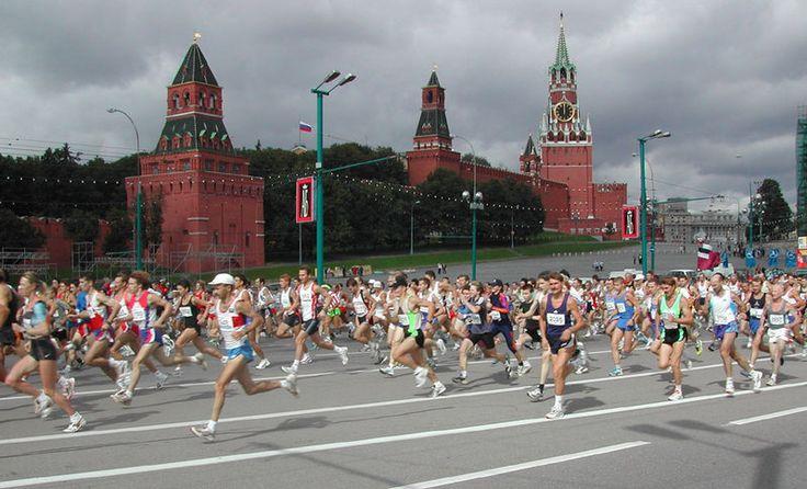 Moscow Maraton race