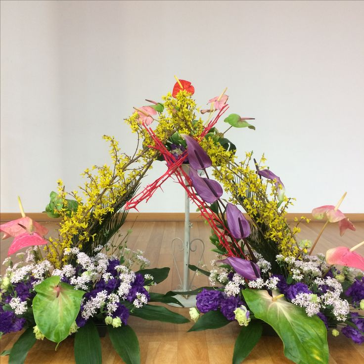 2017.4.9. This week's church flower decoration.