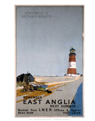 Remember East Anglia Next Summer Art Print