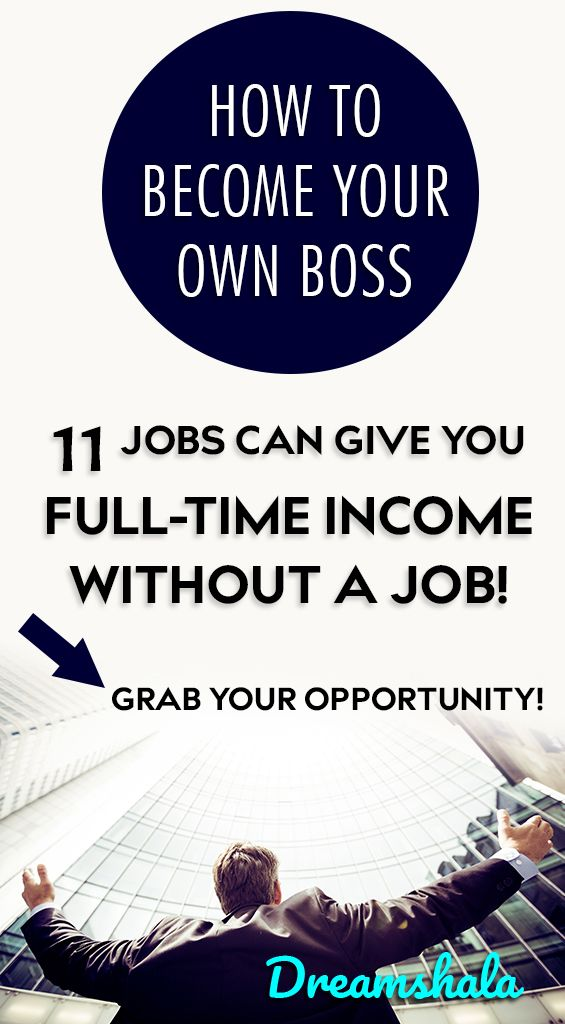 11 Proven Ideas To Become Your Own Boss Income Ing Pinterest Money How Make And From Home