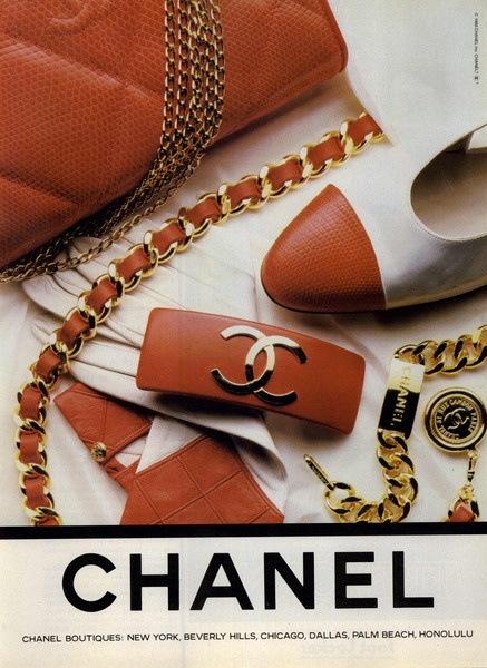 #Chanel Ad Campaign Spring/Summer 1988