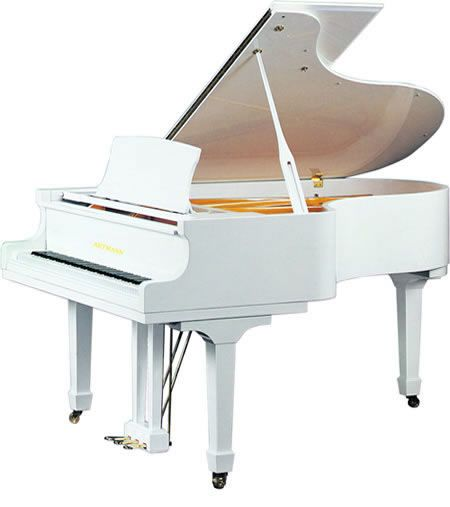Baby white Grand piano GP148, View baby grand piano, Artmann Product Details from Shanghai Artmann Piano Co., Ltd. on Alibaba.com
