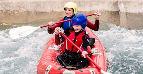 White Water Rafting: Lea Valley