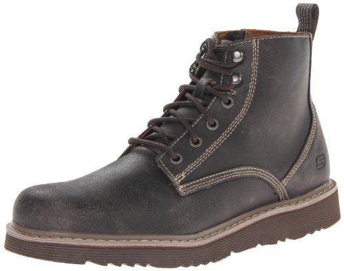 Skechers Men's Renan Lace-Up Boot - http://shoes.goshopinterest.com/mens/boots-mens/rain-boots-mens/skechers-mens-renan-lace-up-boot/