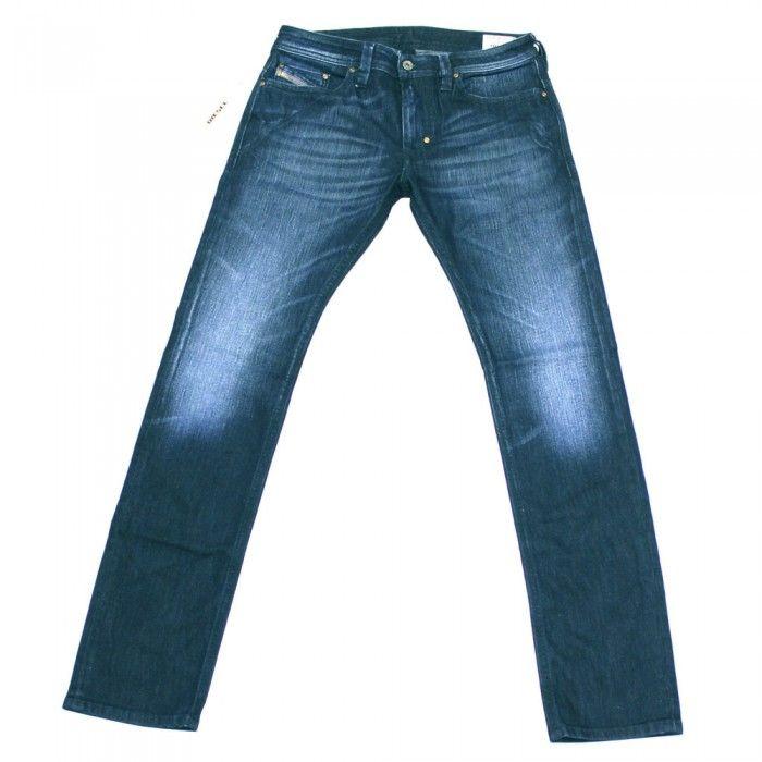 Diesel Thanaz R8LE Mens Jeans | Stretch | 0R8LE | Slim | Straight | Diesel Jean Sale | UK | Designer Man