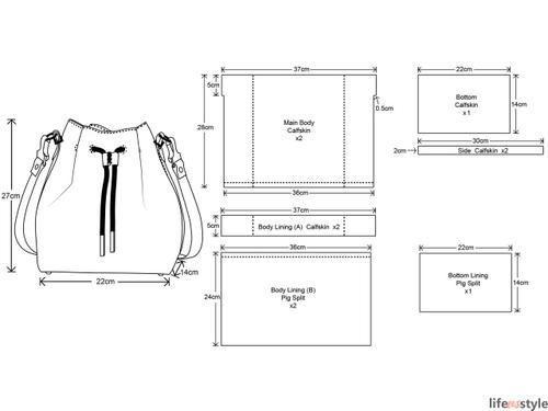 Сумка-баул из кожи (выкройка, Diy) / Сумки, клатчи, чемоданы / ВТОРАЯ УЛИЦА