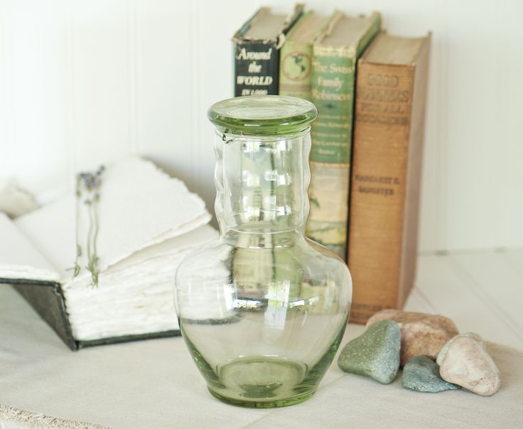 Tumble up Bedside Carafe | Dunbar Glass Company