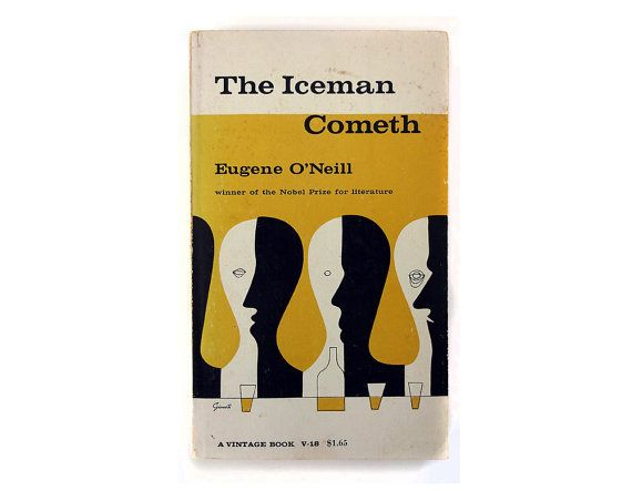 "George Giusti book cover design, c.1957. ""The Iceman Cometh"" by Eugene O'Neill"