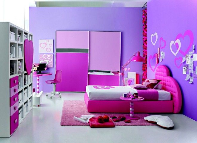 purple color for bedroom 62 The Art Gallery  Purple