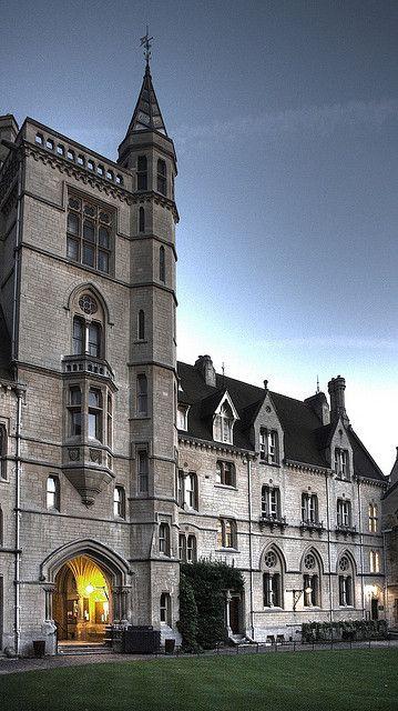 Balliol College, Oxford   My daughters future school...lol she's 8
