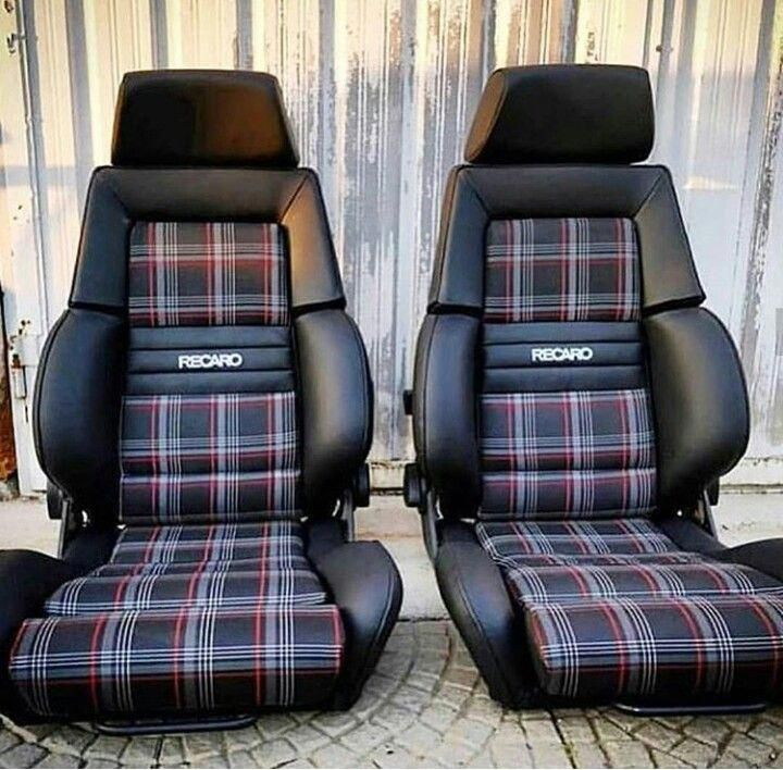 Vwgolfmk2art Assentos De Carro Carros Gol Quadrado Turbo