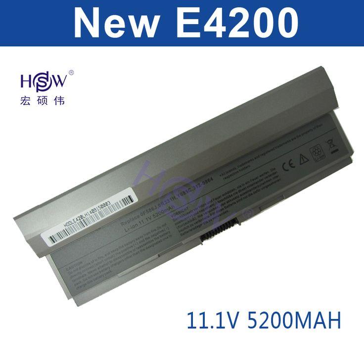 HSW <b>5200MAH</b> 6cells <b>battery for</b> Dell Latitude E4200,E4200n ...