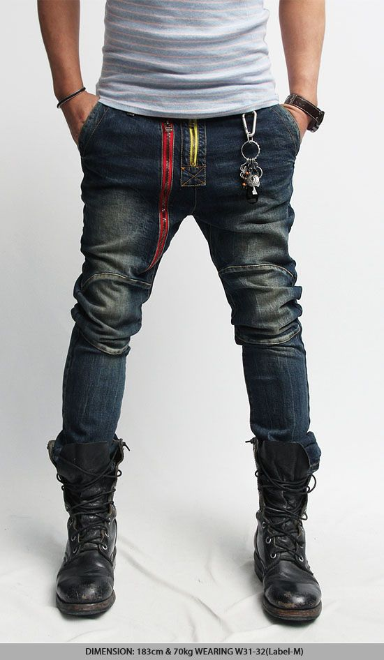 Boots Men Jeans And Fashion T Shirt