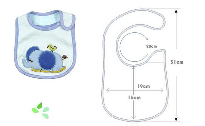 molde babero para bebe - Buscar con Google