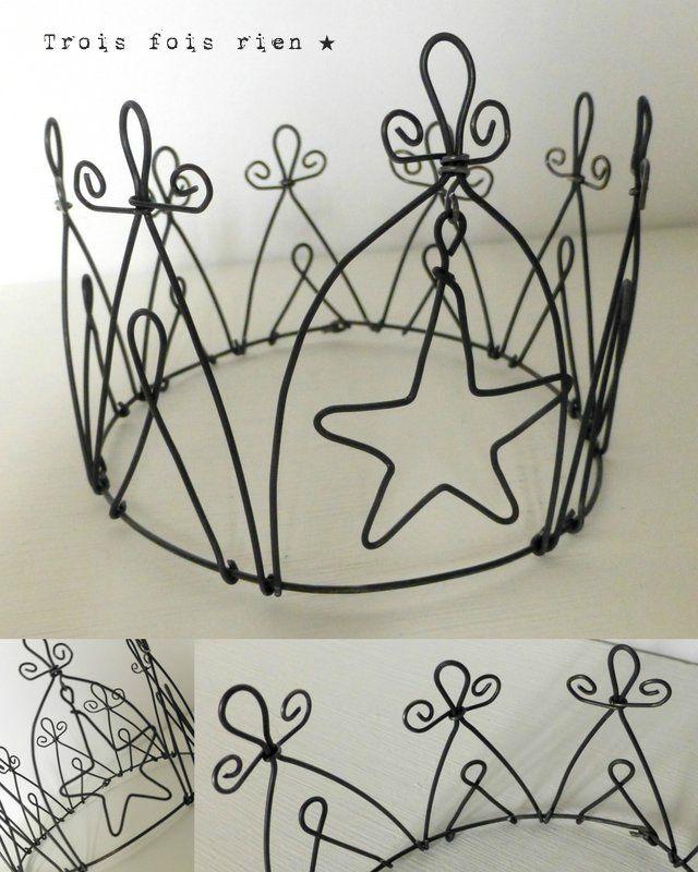 couronne fil de fer, wire crown 9B