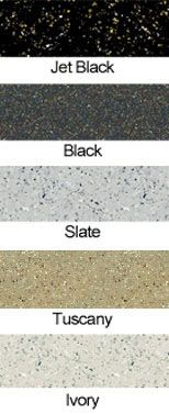 SpreadStone countertop refinishing colors (go to the website and watch the video....sounds easy enough)