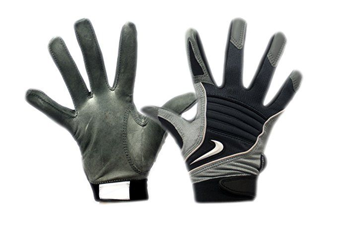Swoosh Nike Speedtack V - College Football Gloves Leather Palm (PGF147-020)  (Medium 25170ee5f