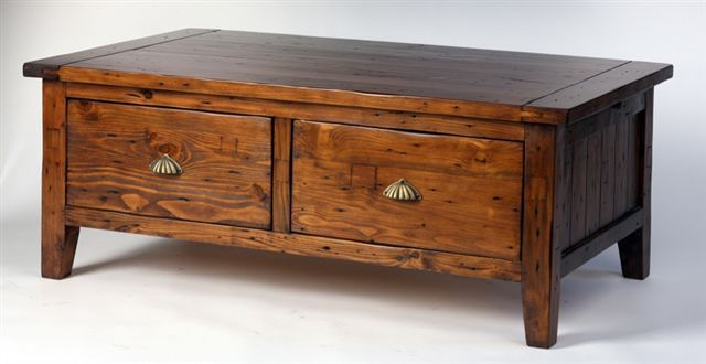 If you need a wider coffee table with some depth, go for this #reclaimed pine coffee table! www.antiquesdirect.ca #Vancouver #Sale #WeShipAllOverNorthAmerica