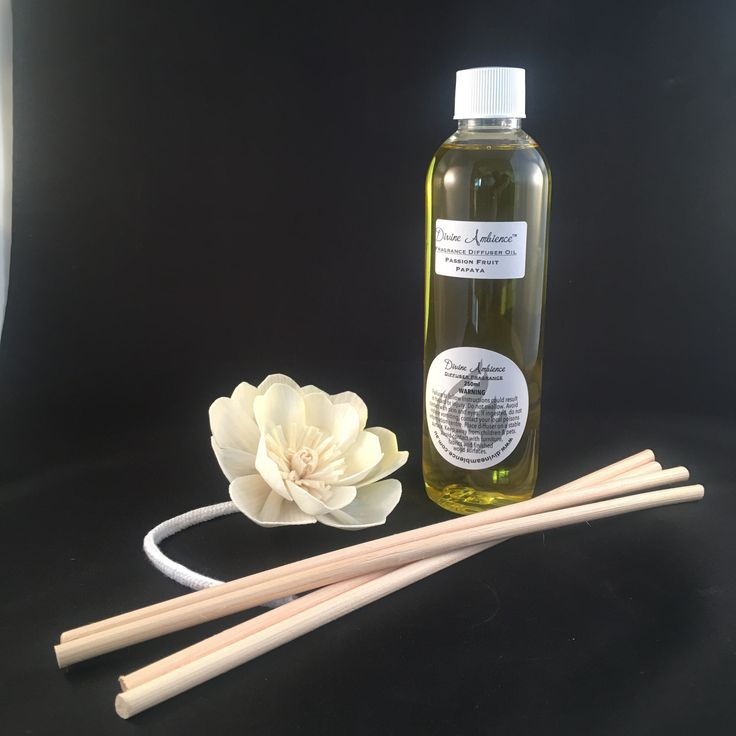 Fragrance Diffuser Refills in Sola Flower or Rattan Reeds